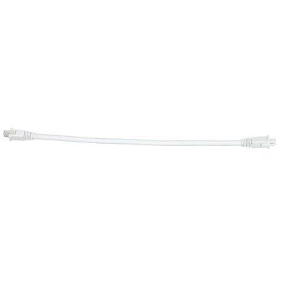 Smart Lighting Under Cabinet Linking Cable Finish: White