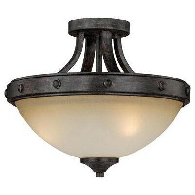 Leonie 2-Light Semi Flush Mount