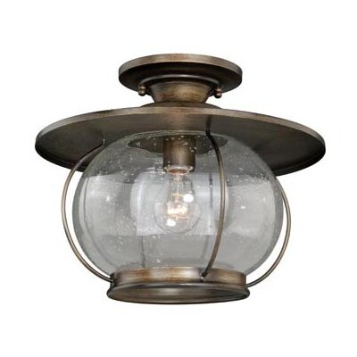 Karole 1-Light Semi Flush Mount