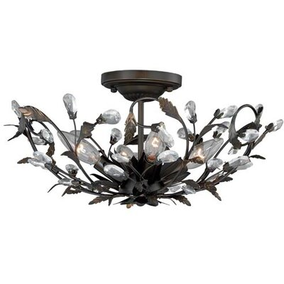 Trellis 4-Light Flush Mount