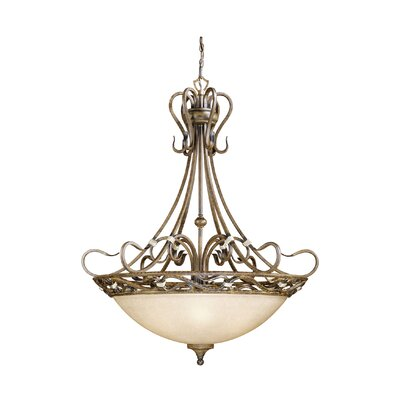 Berkeley 7-Light Inverted Pendant Finish: Aged Walnut