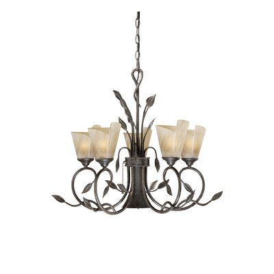 Capri 5-Light Shaded Chandelier