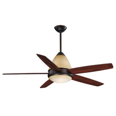 Fresco II 5-Blade Ceiling Fan Finish: Oil Burnished Bronze