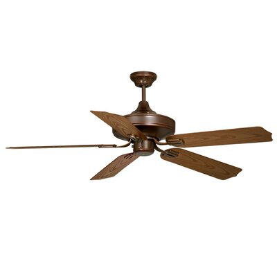 Protico 5-Blade Ceiling Fan Finish: Burnished Bronze