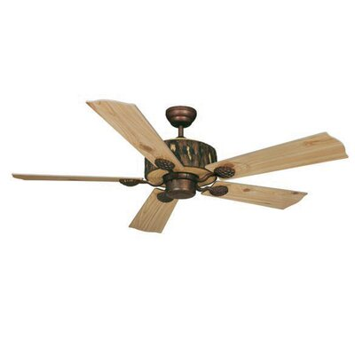 Log Cabin 5-Blade Ceiling Fan