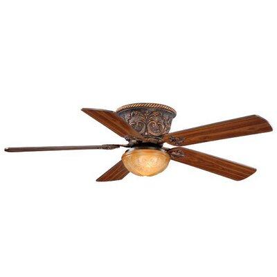 Brouillette 5-Blade Ceiling Fan Color: Aged Bronze