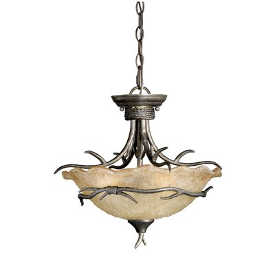 Monterey 2-Light Convertible Inverted Pendant