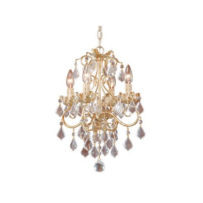Newcastle 4-Light Crystal Chandelier