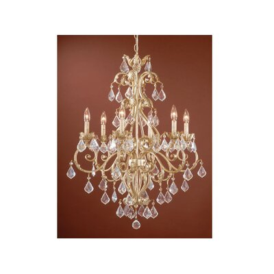 Prosser 6-Light Crystal Chandelier