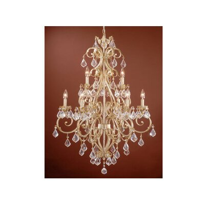 Prosser 9-Light Crystal Chandelier