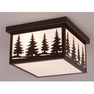 Yellowstone 2-Light Flush Mount