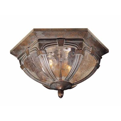 Essex 2-Light Flush Mount Finish: Royal Bronze