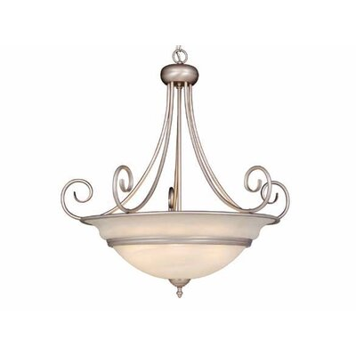 Thomson 6-Light Inverted Pendant Finish: Brushed Nickel