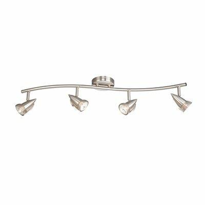 Linear 4-Light Full Track Lighting Kit