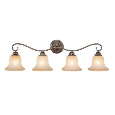 Three Posts Enfield 4-Light Vanity Light