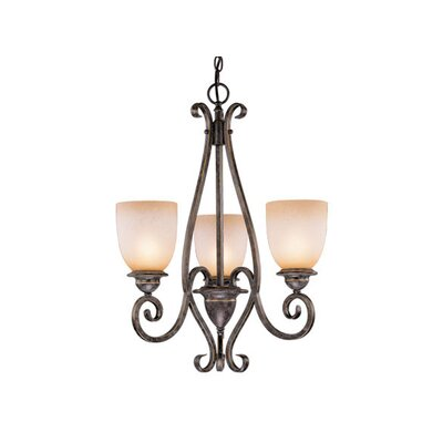 Brosnan 3-Light Shaded Chandelier