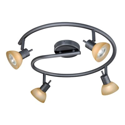 Circular Spotlight  Kit in Dark Bronze Finish: Dark Bronze