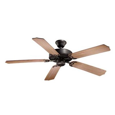Medallion 5-Blade Ceiling Fan Finish: Noble Bronze