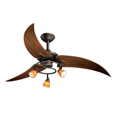 Birdsall 3-Blade Ceiling Fan Finish: Oil Rubbed Bronze