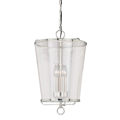 630 Series 1-Light Mini Pendant Finish: Polished Nickel P0115