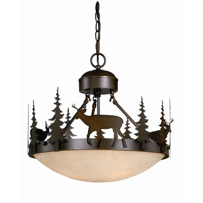 Bryce 3-Light Inverted Pendant