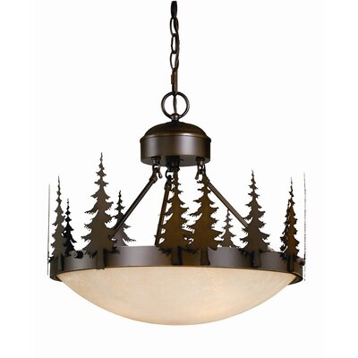 Yosemite 3-Light Inverted Pendant