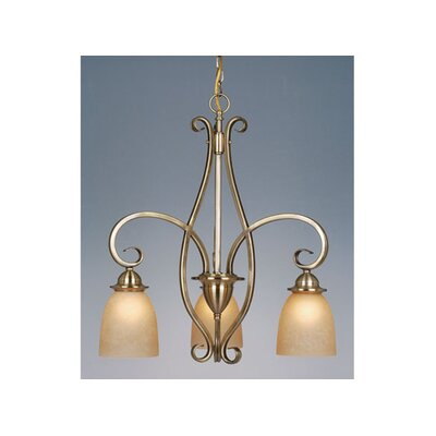 Mont Blanc 3 Light Chandelier