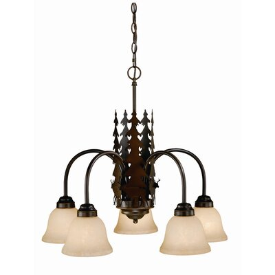 Bryce 5-Light Shaded Chandelier