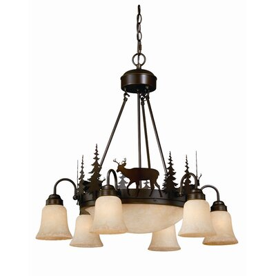 Bryce 9-Light Shaded Chandelier