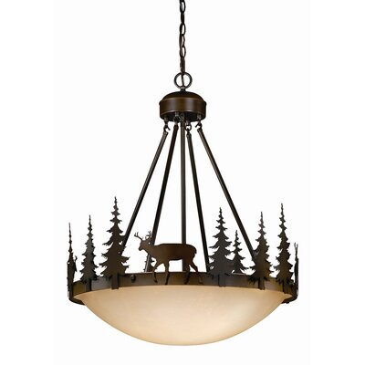 Ponte 4-Light Inverted Pendant