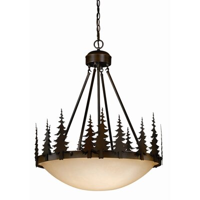 Jennings 4-Light Inverted Pendant
