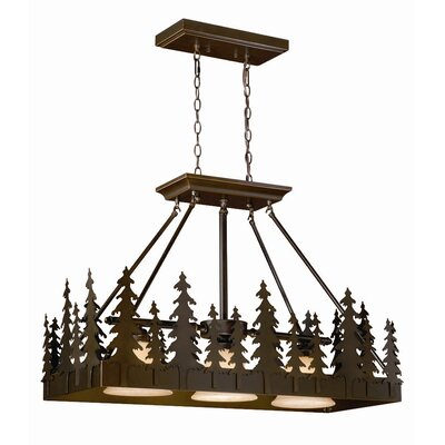 Jennings 3-Light Metal Pendant