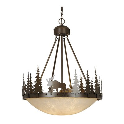 Ponton 4-Light Inverted Pendant