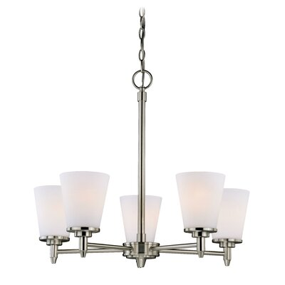 Eastland 5-Light Shaded Chandelier