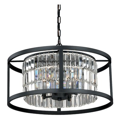Catana 4-Light Drum Chandelier