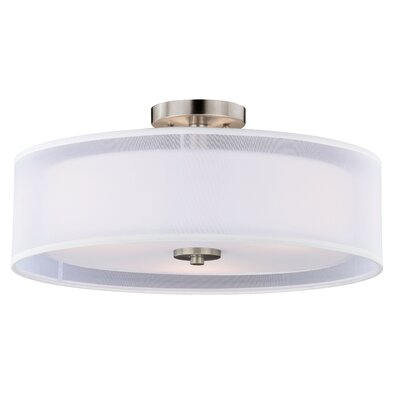 Nuage Semi-Flush Mount