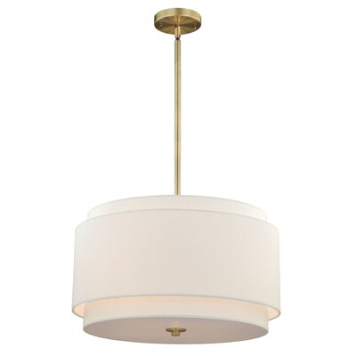 Burnaby 4-Light Drum Pendant