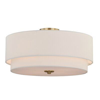 Burnaby 4-Light Semi-Flush Mount