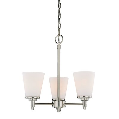 Eastland 3-Light Shaded Chandelier