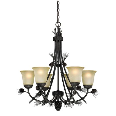 Sierra 6-Light Shaded Chandelier