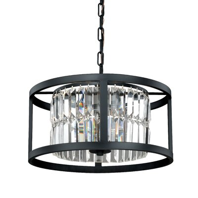 Catana 3-Light Crystal Chandelier