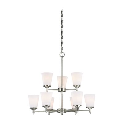 Eastland 9-Light Shaded Chandelier