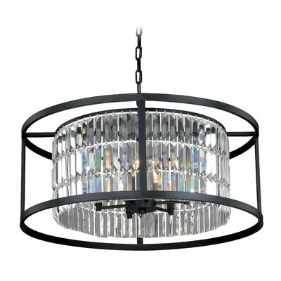 Catana 6-Light Crystal Chandelier