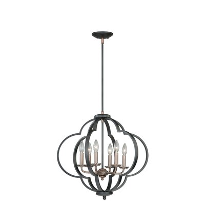 Amory 6-Light Foyer Pendant
