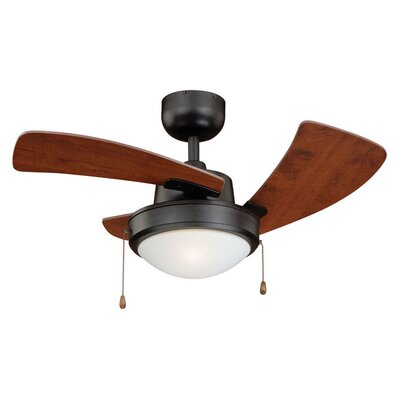 36 Wolcott 3-Blade Ceiling Fan