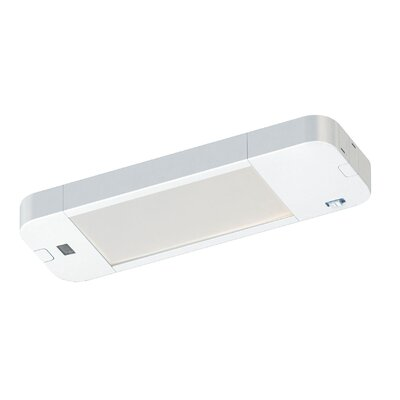 Instalux� 8 LED Under Cabinet Bar Light Finish: White