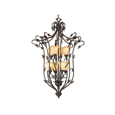 Mia 8-Light Foyer Pendant