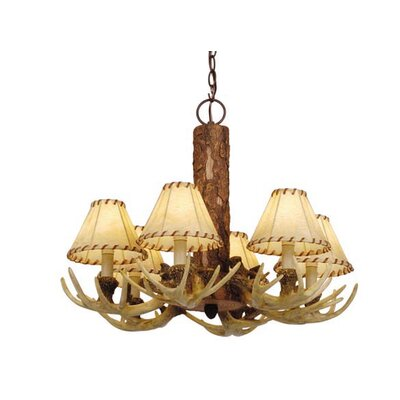 Portillo 6-Light Shaded Chandelier