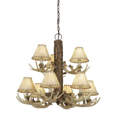 Portillo 9-Light Shaded Chandelier