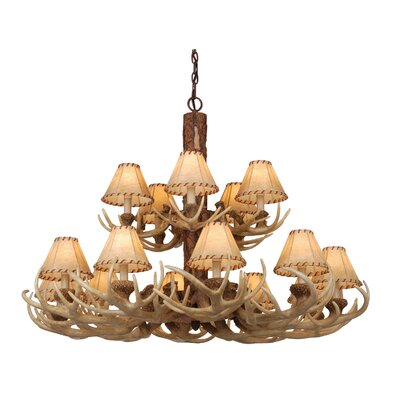Portillo 15-Light Shaded Chandelier